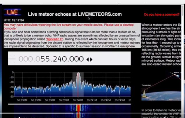 life meteors echo