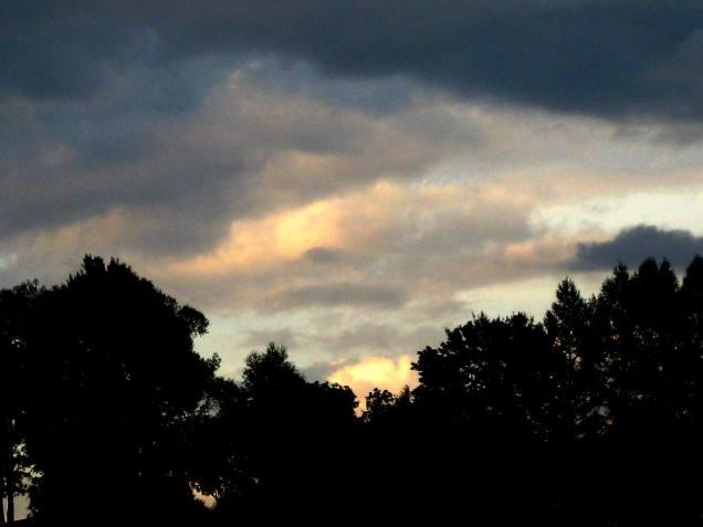 Sonnenuntergang im Osten 2