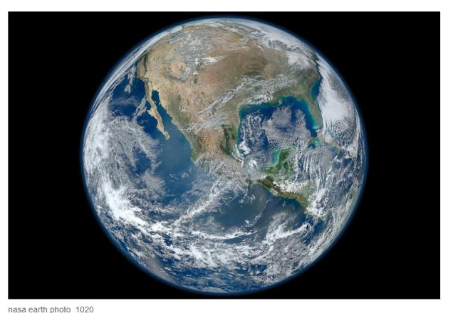 Erde NASA