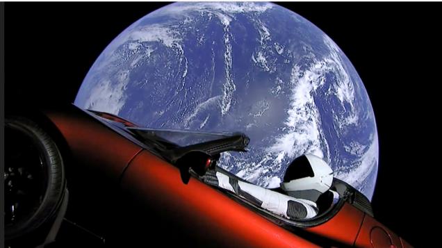 Tesla car